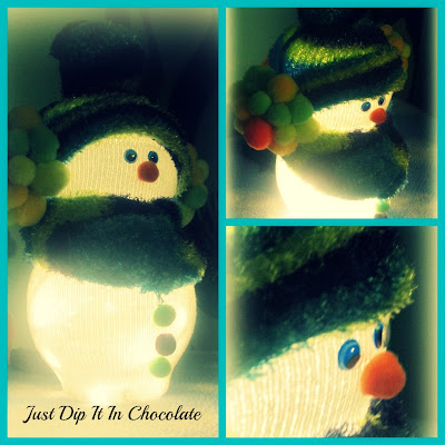 DIY Pancho The SnowMan @ Just Dip It In Chocolate