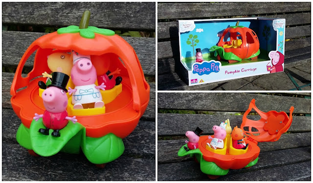 Once Upon a Time with Peppa Pig Pumpkin Carriage