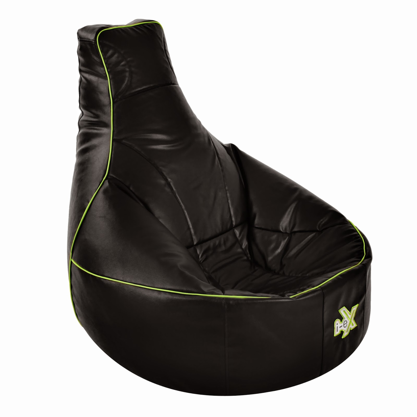 review i ex bean bag gaming chair the test pit. Black Bedroom Furniture Sets. Home Design Ideas