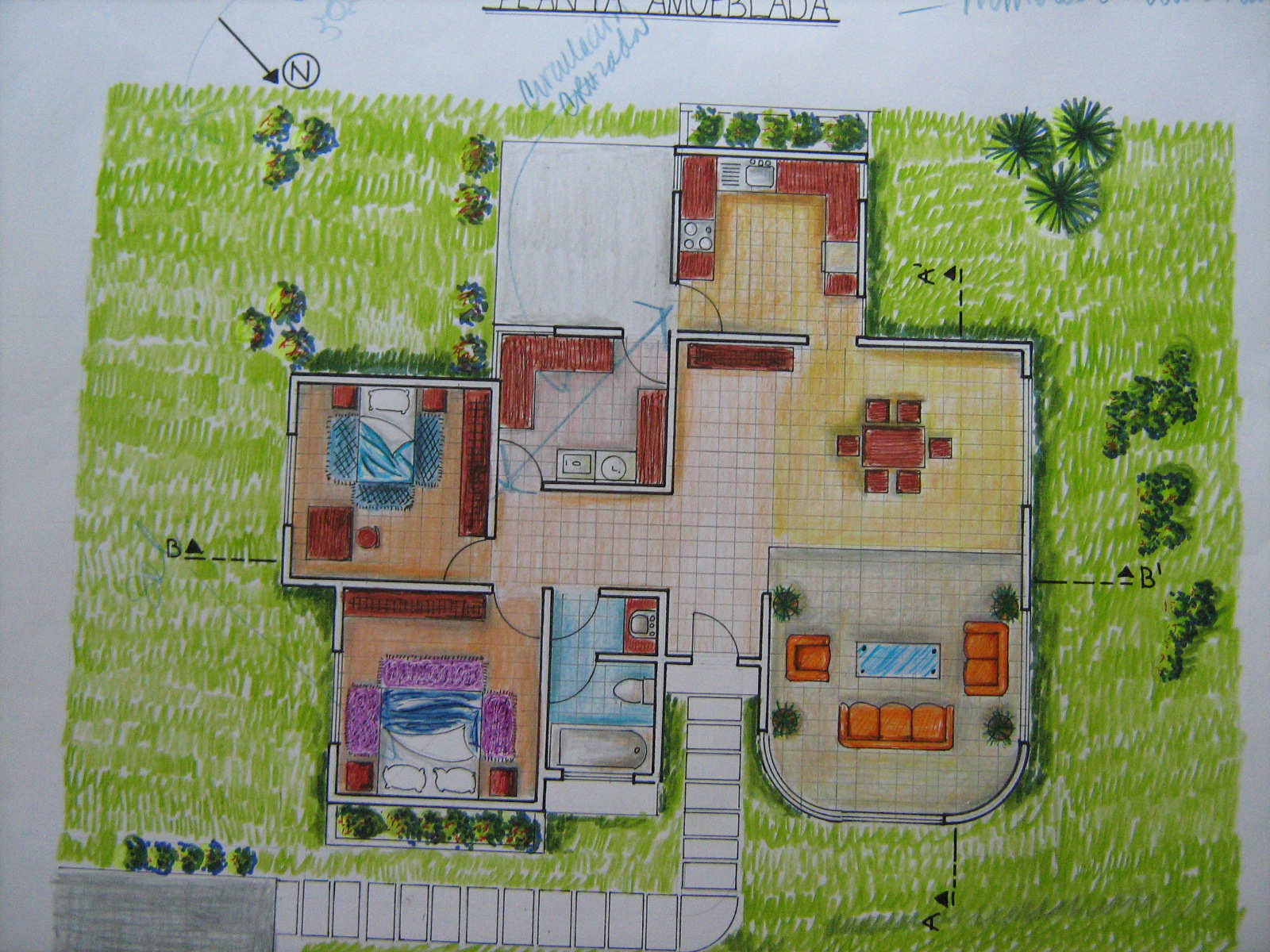 Mi portafolio de arquitectura usac 03 16 13 for Plantas de arquitectura
