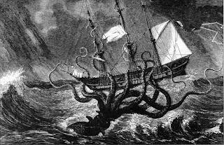 Binatang Mitologi Dunia yang Melegenda - Kraken
