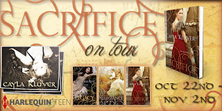 Sacrifice by Cayla Kluver BLOG TOUR