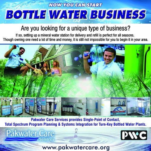 water packaging business plan