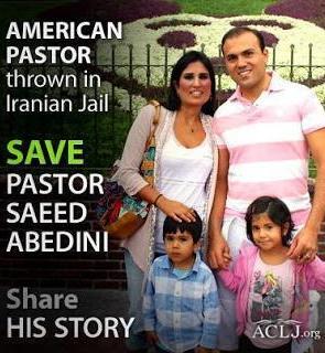 ¡Salvemos al pastor Saeed Abedini!