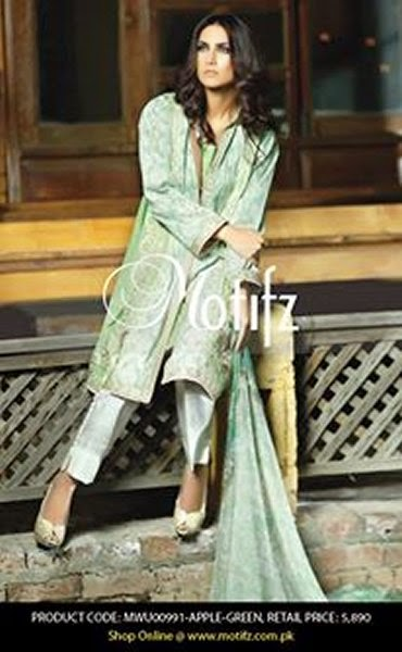 Motifz Spring Lawn Collection for Women