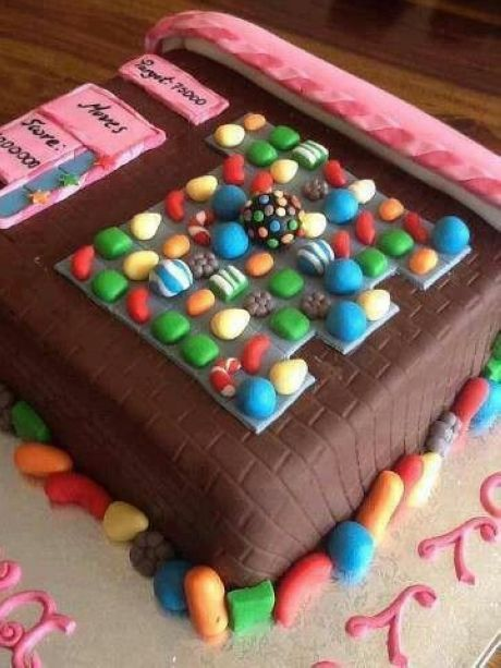 Awesome Candy Crush Cake