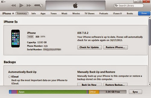Cara Sync iPhone ke iTunes di Macintosh dan Windows PC