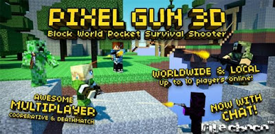 Pixel Gun 3D Pro v10.0.7 Hileli (Para Hileli) Apk İndir