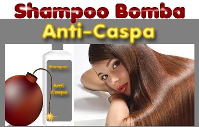 receita de shampoo bomba anti caspa