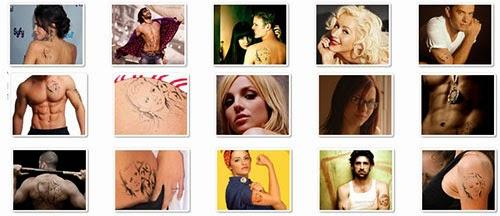 estilos de modelos de tatuagens online grátis