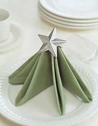 use napkins it's echo friendly - how to napkin fold christmas tree
