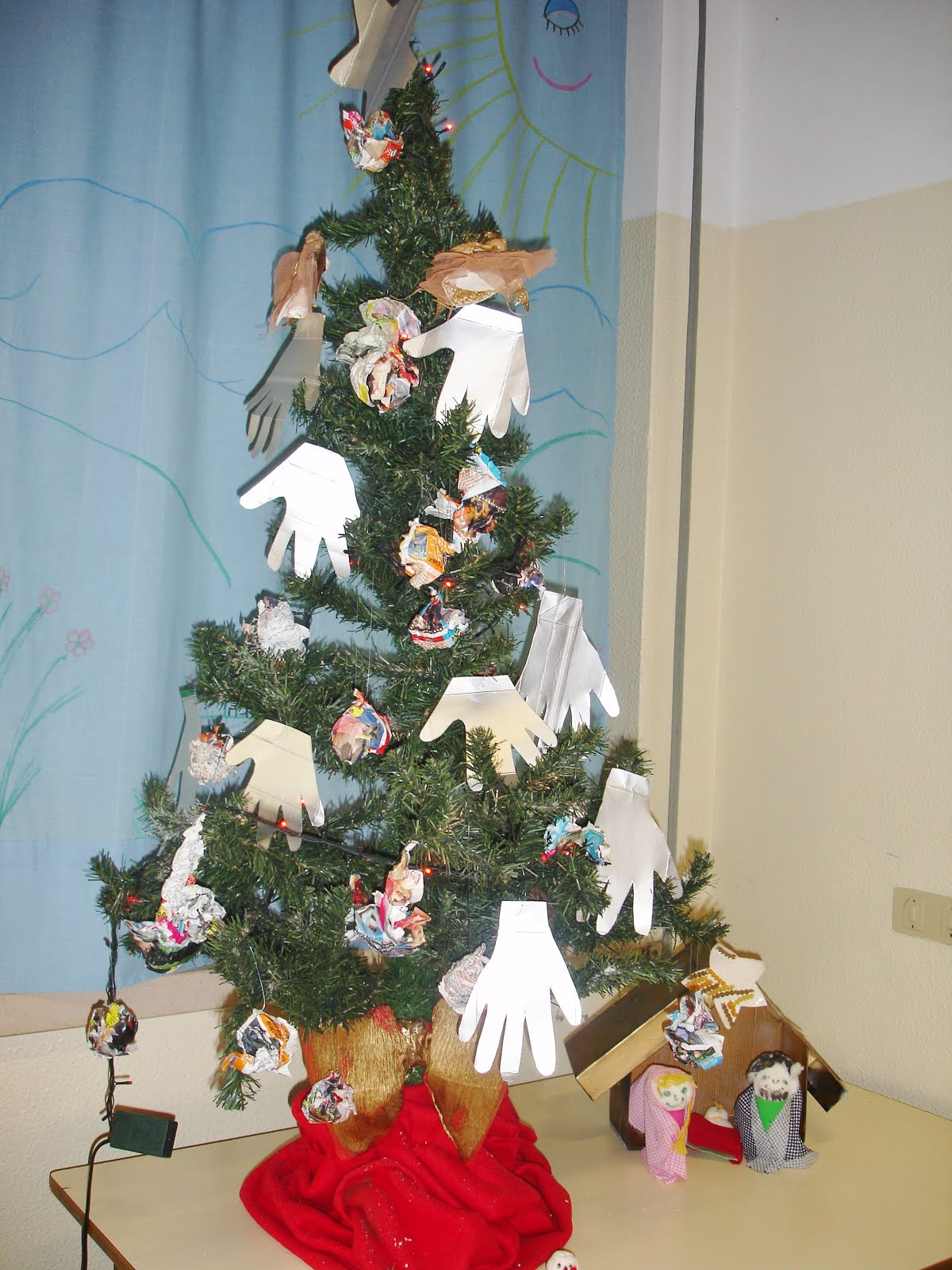 Árvore de Natal UEAM - dez 2015