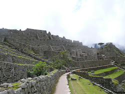 Residential area below Guardhouse, Machu Picchu
