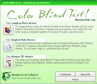 Tes Buta Warna Dengan Software