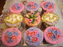Fondant Cup Cake