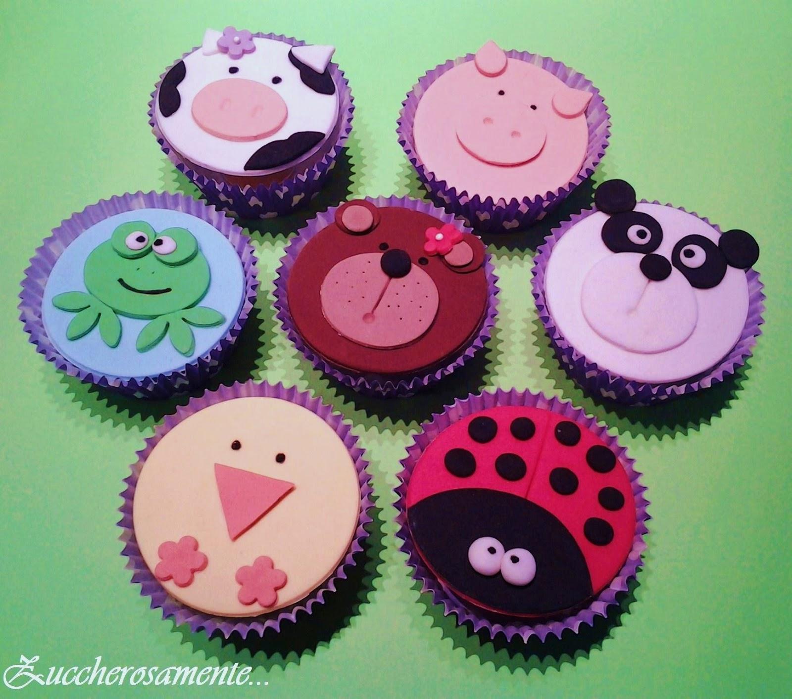 Zuccherosamente animals cupcakes corso di cake - Accessori per cake design ...