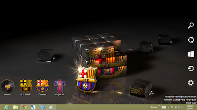 Barcelona Fc 2013 Theme For Windows 8