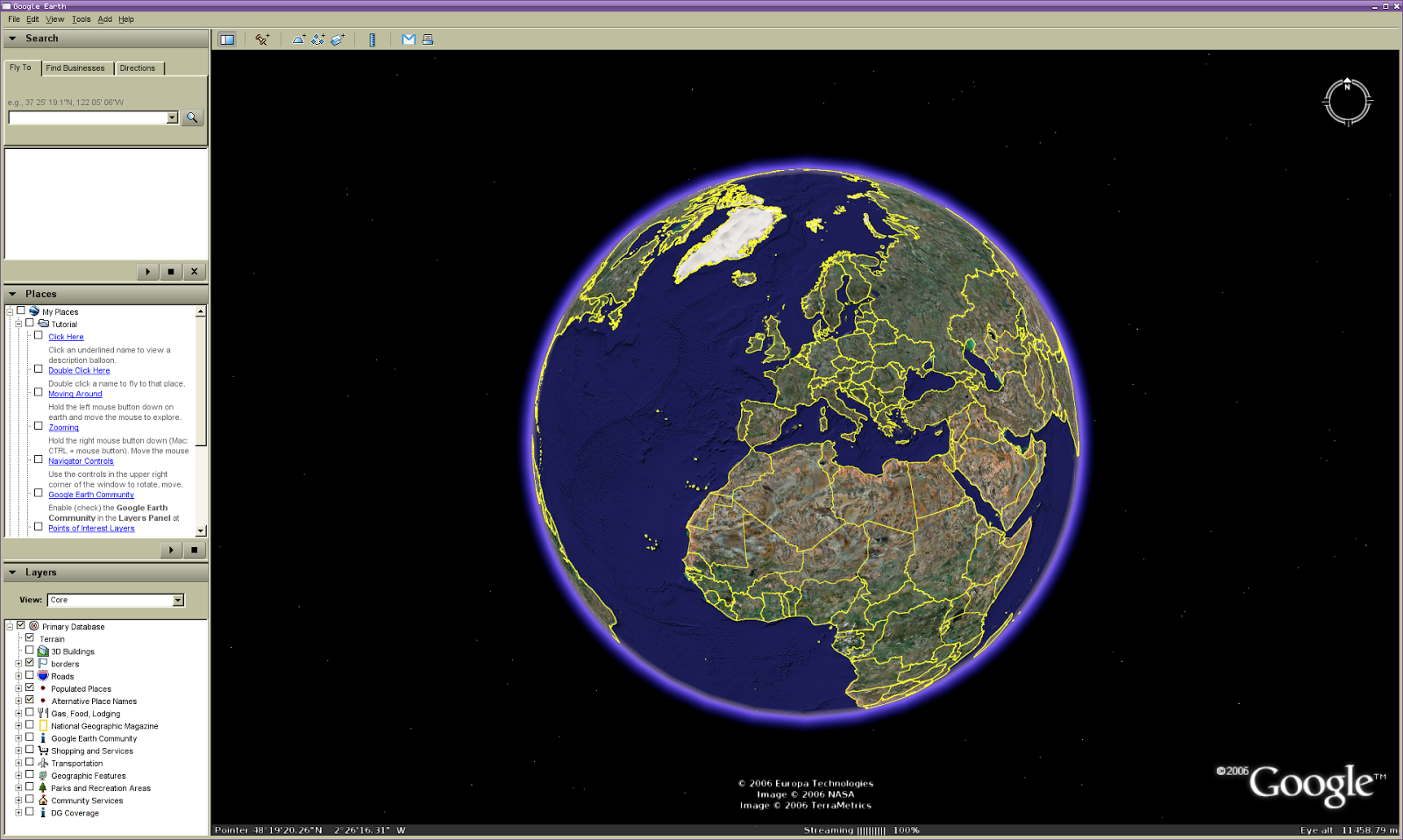 Google earth Google 3d software