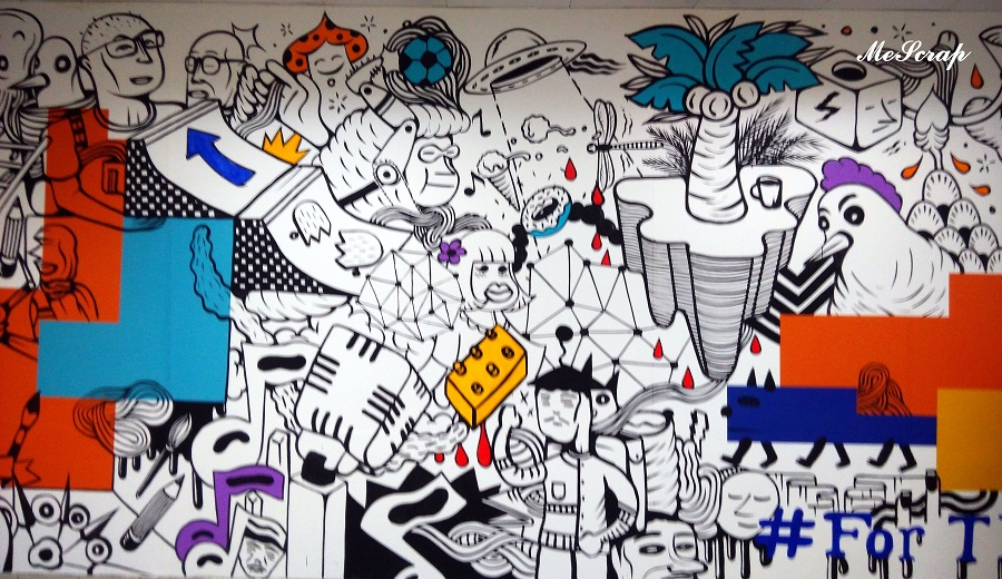 For the makers of tomorrow an indoor mural wall for Mural indonesia