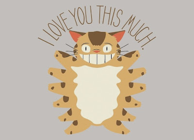 "My Neighbor Totoro ""I Love You This Much!"" T-Shirt by Threadless"