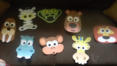 Printable Animal Masks for Polar Bear Polar Bear What do you Hear? by Masketeers.com http://readysetread2me.blogspot.com
