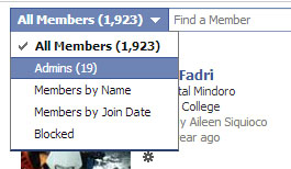 how to change admins on facebook group