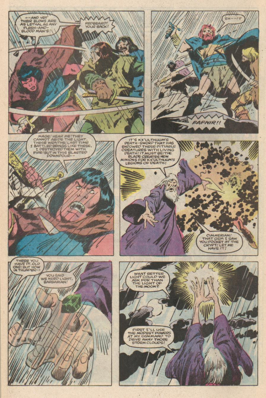 Conan the Barbarian (1970) Issue #170 #182 - English 15
