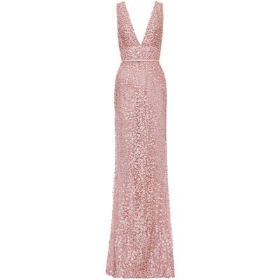 vestido rosa quartz elie saab