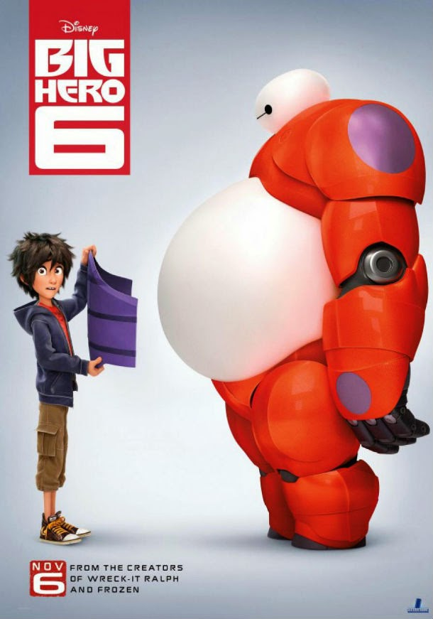 GAMBAR BIG HERO 6 WALT DISNEY Film Animasi Terbaru Kartun Lucu Marvel