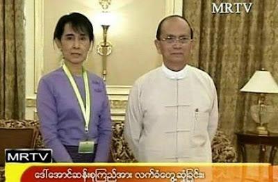 ေဒၚေအာင္ဆန္းစုၾကည္ သမၼတဦးသိန္းစိန္ႏွင့္ ဒုအႀကိမ္ ေတြ႔မည္ – Daw Suu to meet the president 