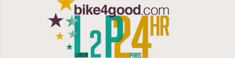 Bike4Good : London-Paris in 24 hrs for Duchenne Children's Trust