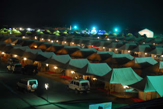 Tented Accomondation Rann Utsav Kutch, Gujarat