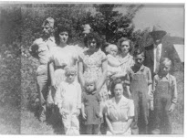 HOYLE & RUTH SHOOK & ALL 10 CHILDREN