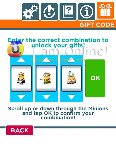 Despicable Me: Minion Rush Gift Codes 1