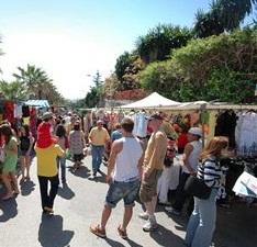 Mercadillo Marbella Puerto Banus