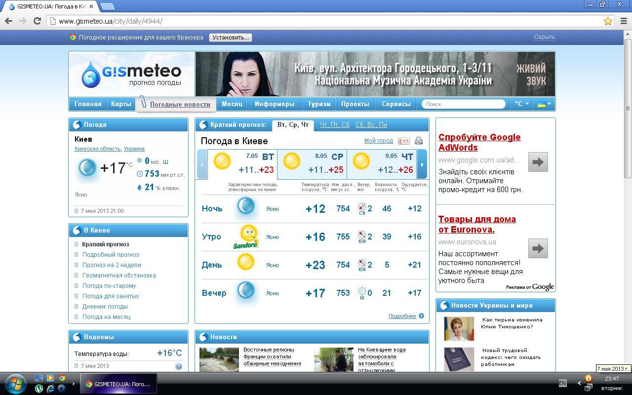 Погода в кировоградской области знамянський район