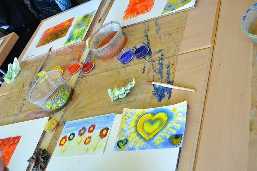 Kennenlernen kunstunterricht