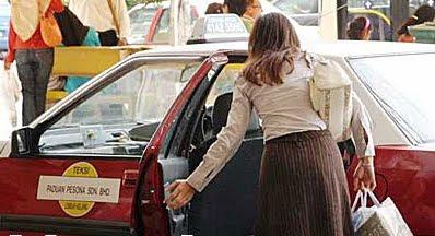 Muka berdarah ditoreh pisau, wanita dirompak pemandu teksi
