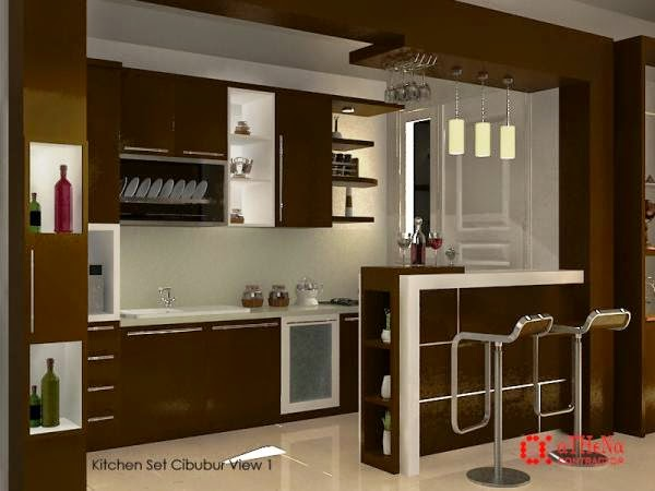 Dapur unik bergaya sebuah bar, dapur elegan, dapur cantik, dapur unik