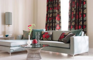 Harlequin Living Room Design Interior