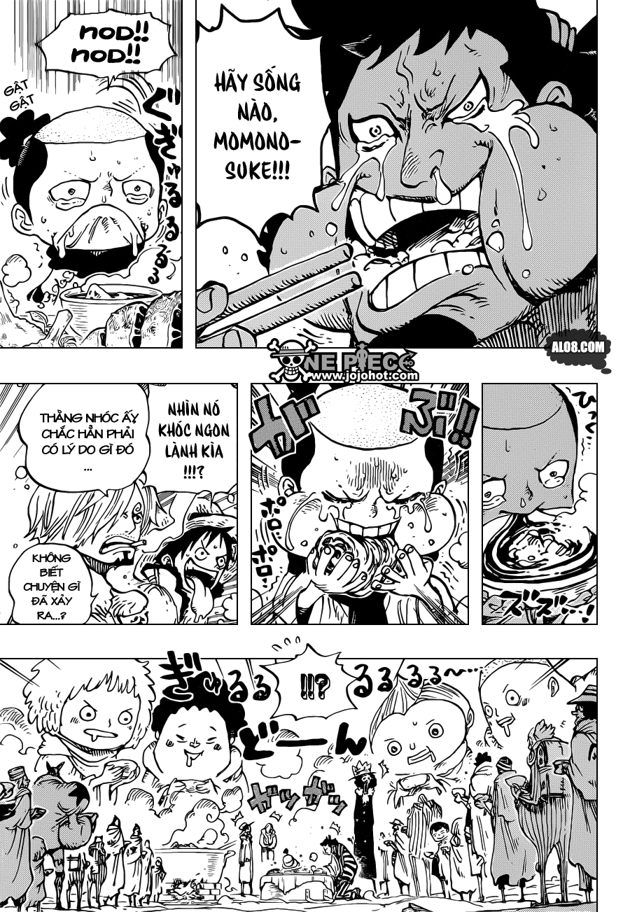 One Piece Chapter 696: Nơi lợi ích gặp gỡ 015