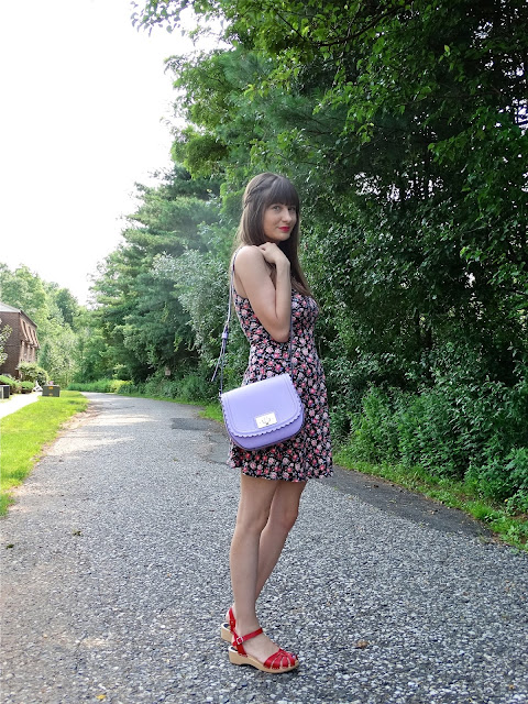 Swedish Hasbeen Sandals paired with a summer dress, styled by fashion blogger House Of Jeffers | www.houseofjeffers.com