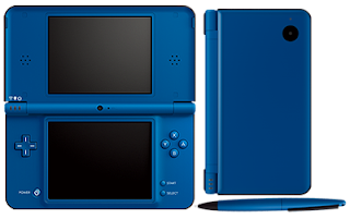 Midnight Blue Nintendo DSi XL