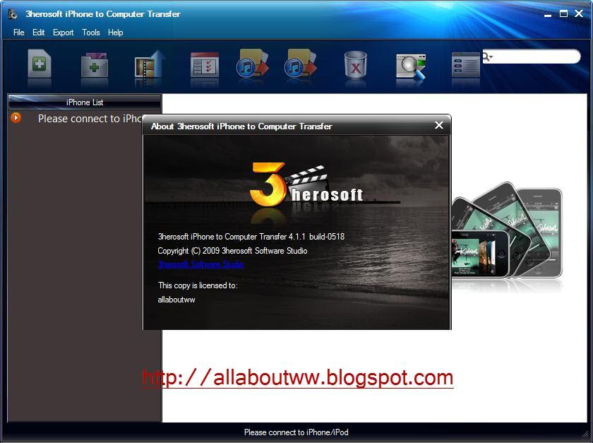 3herosoft iphone photo to computer transfer 3 6 0 0118