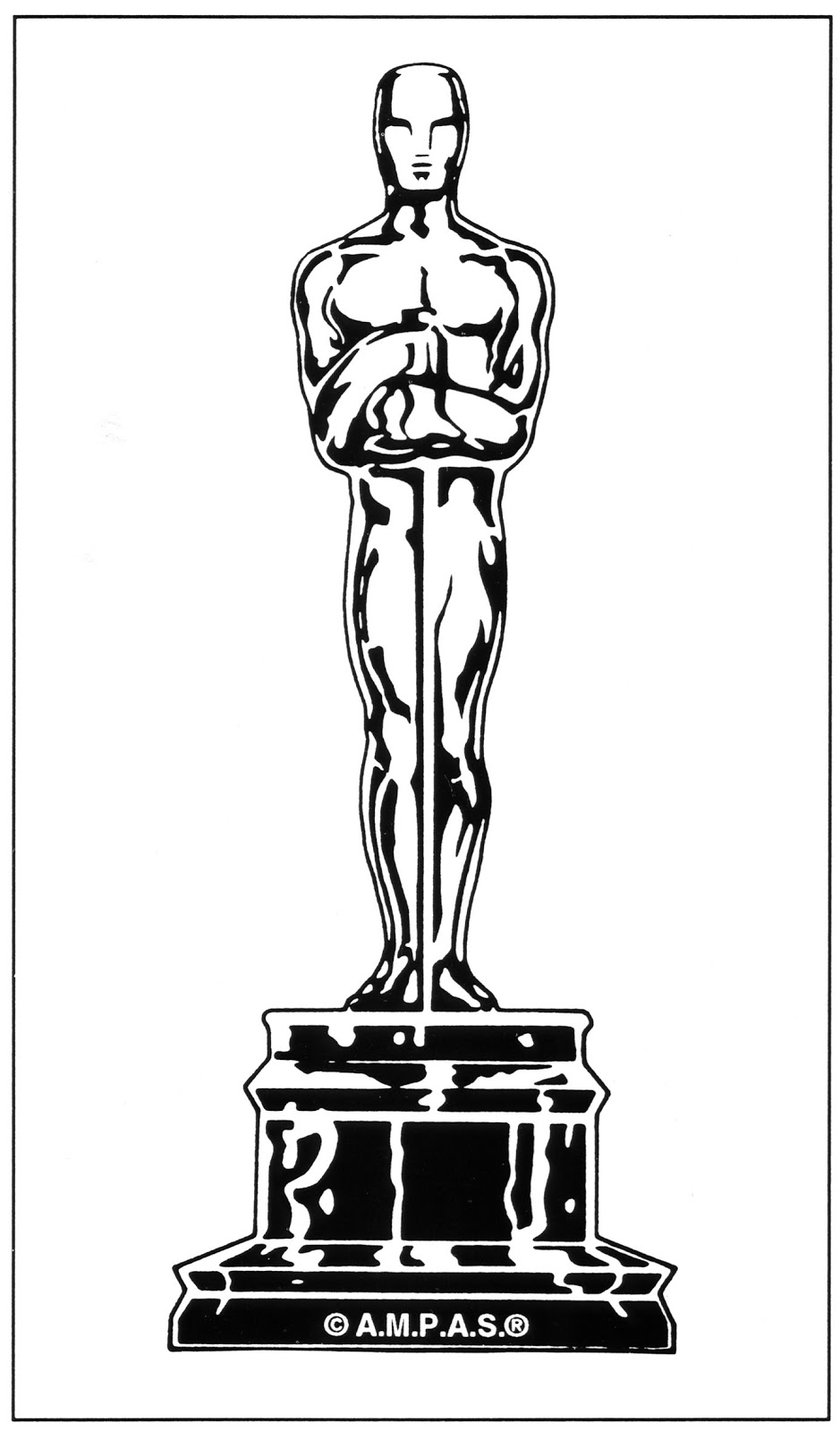 Duda Goma Eva T78576 further Trophy Coloring Sheet Sketch Templates in addition AcademyNominations also Diy Oscar Party Popcorn Box Printables besides Oscar. on oscar award cut out template