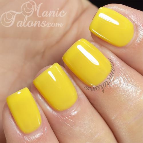 Purjoi One Step Lemon Candy Swatch