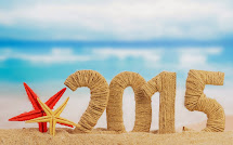 Beach Happy New Year 2015