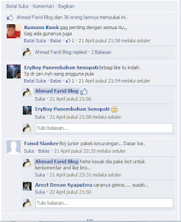 Reply to Comment ( Balas Komentar )