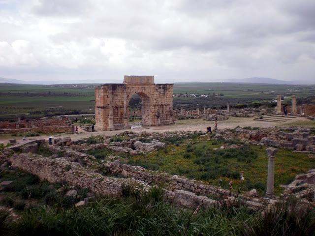 Arco del triunfo de Caracalla Vollubilis
