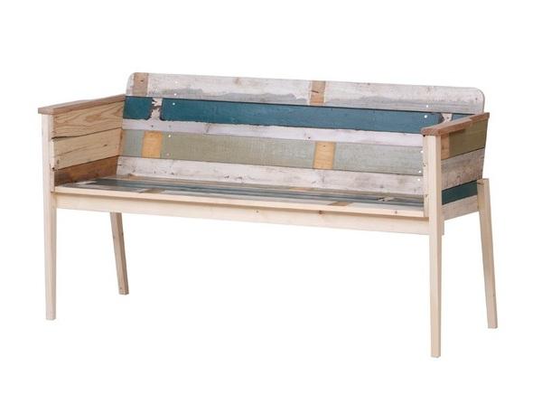 Muebles de madera reciclada hechos a mano for Muebles con madera reciclada